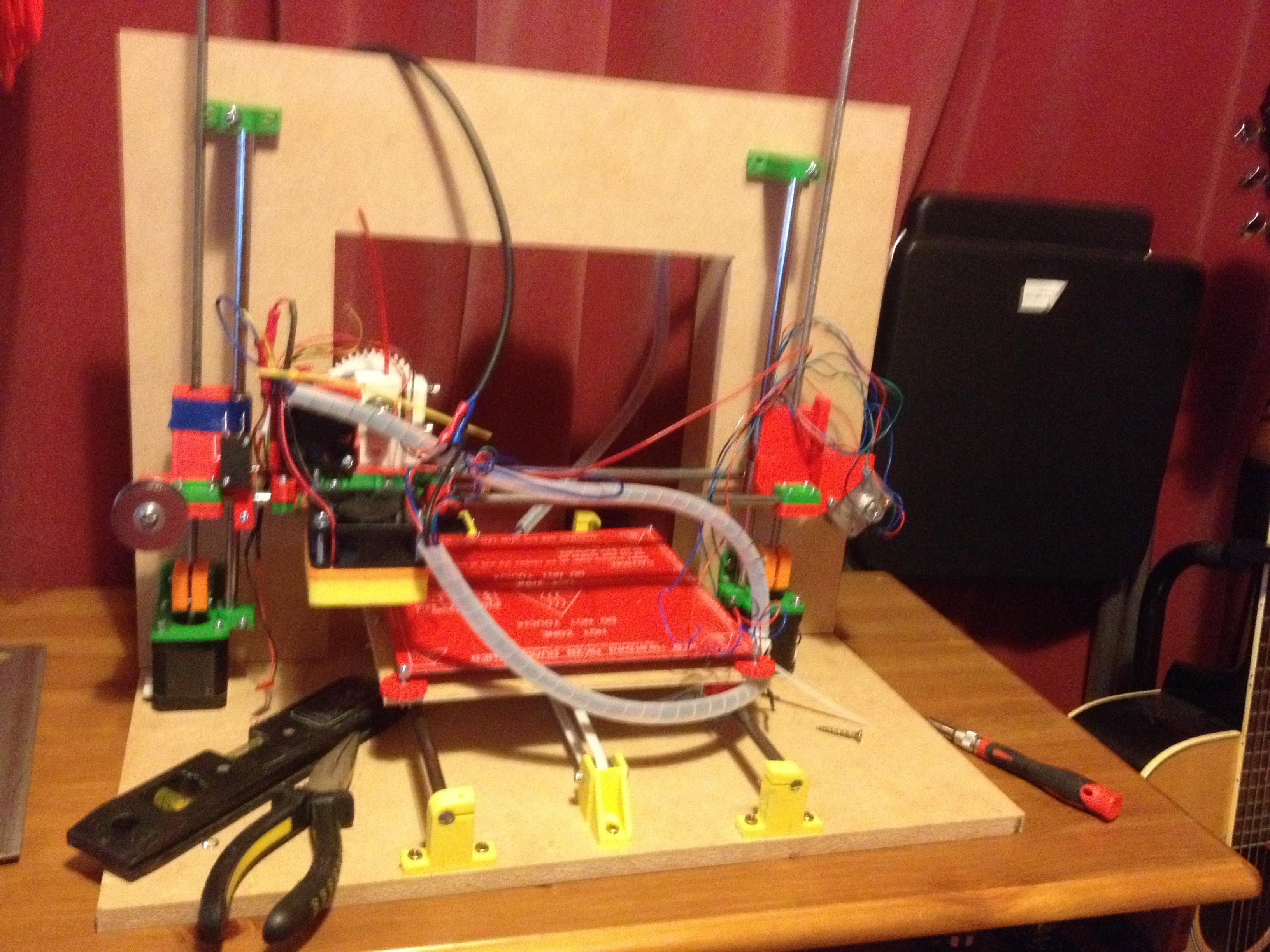 My home built 3D printer